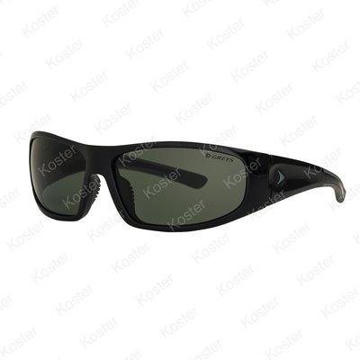 Greys G1 Sunglasses Gloss Black - Green/Grey