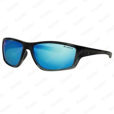 Greys G3 Sunglasses Gloss Black Fade - Blue Mirror