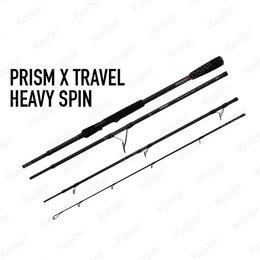 Rage Prism X Travel Heavy Spin Rod 2.40 30-100g 4pc