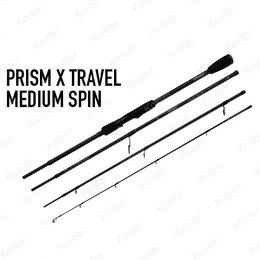 Rage Prism X Travel Medium Spin Rod 2.40 15-35gr 4pc