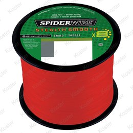 Spiderwire Stealth Smooth 8 Red 2000 mtr.