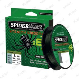 Spiderwire Stealth Smooth 8 Moss Green 300 Meter