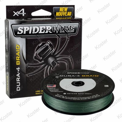 Spiderwire Dura-4 Braid Green 1 Meter