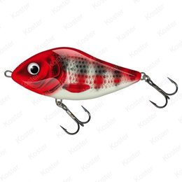 Salmo Slider Sinking Red Head Striper 12cm