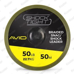 Avid Carp Shock Tight Braided Snag/Shock Leader 50 LB