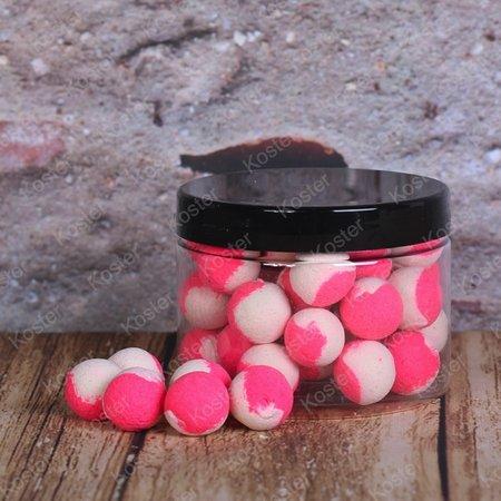 Kostra POP-Ups Squid&Scopex 15mm Fluo White/Pink