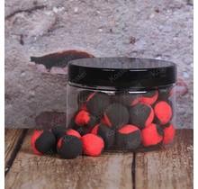 POP-Ups Squid&Garlic 15mm Fluo Black/Red