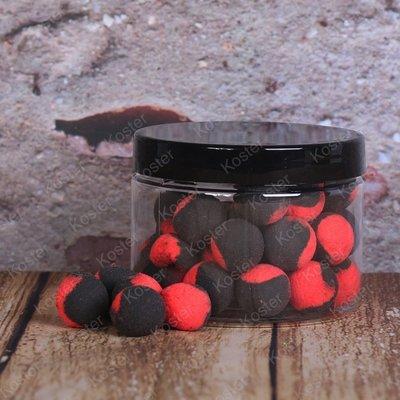 Kostra POP-Ups Squid&Garlic 15mm Fluo Black/Red