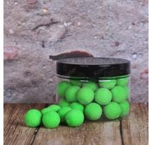 POP-Ups Green Shellfish 15mm Fluo