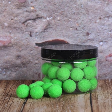 Kostra POP-Ups Green Shellfish 15mm Fluo
