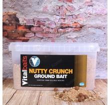 Groundbait Nutty Crunch Bucket 3 kg.