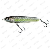 Sweeper Sinking Silver Chartreuse Shad 10cm