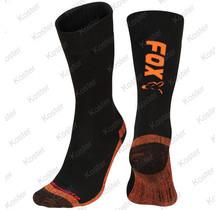 Black / Orange Thermolite Long Sock