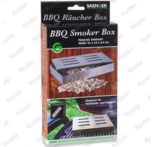 BBQ Smoker RVS 21x13x3.4cm