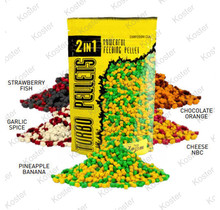 2In1 Turbo Pellets 3Mm 500G Strawberry-Fish