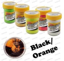PowerBait Glitter Black/Orange