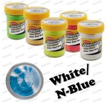 PowerBait Glitter Blue Neon/White