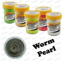 PowerBait Glitter Worm Pearl