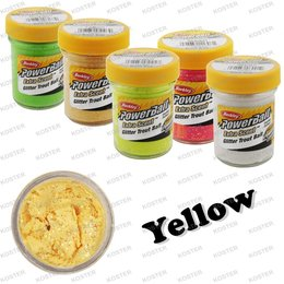Berkley PowerBait Glitter Yellow