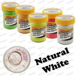 Berkley PowerBait Glitter Natural White