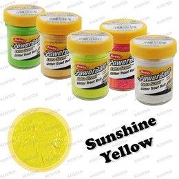 Berkley PowerBait Glitter Sunshine Yellow