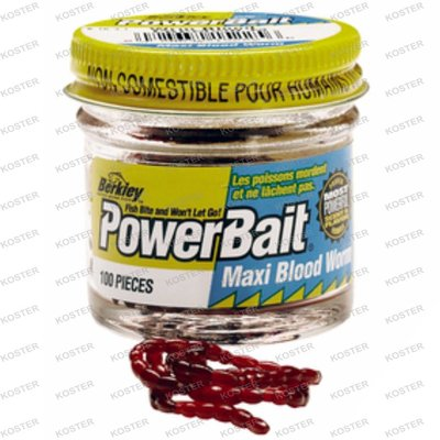 Berkley PowerBait Power Blood Worm