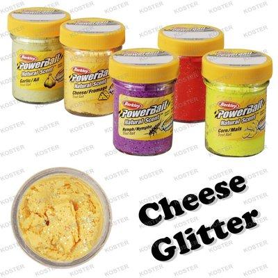 Berkley PowerBait Natural Scent Cheese Glitter