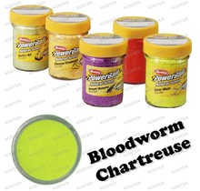 PowerBait Natural Scent Bloodworm Chartreuse