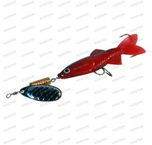Follow-Fish Spinner Red