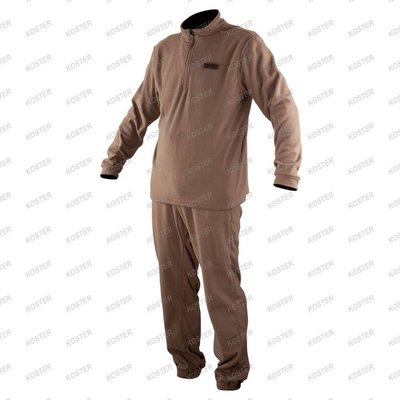 FOX CHUNK Mid Layer Comfort Set Khaki