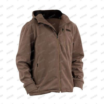 FOX CHUNK Wind Shield Hooded Jacket Khaki