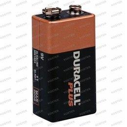 Overig Duracell Plus 9V Batterij