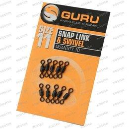 Guru Size 11 Rig System Swivels