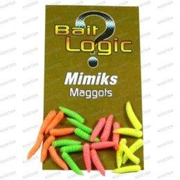 Overig Bait Logic Mimiks Maggots Fluoro Mix