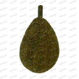 Korda Textured Flat Pear Inline Lead