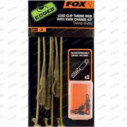 FOX EDGES Leadclip Tubing Rig Kwik Change Kit