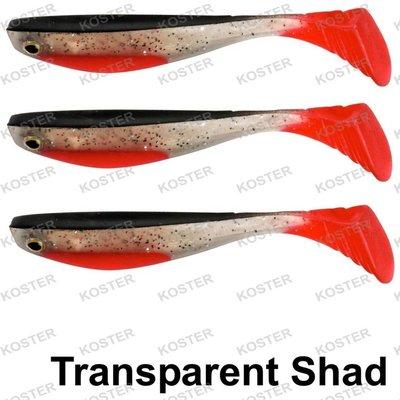 Spro Wacky Shad 6.5 cm Transparent Shad