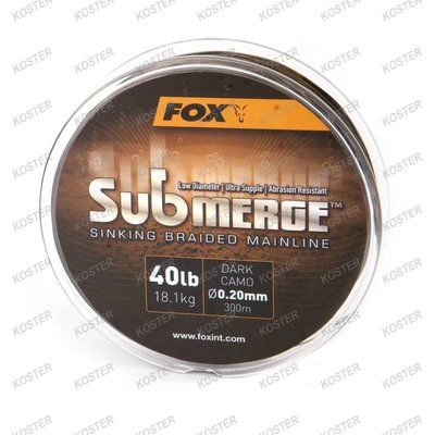 FOX EDGES Submerge Sinking Braided Mainline