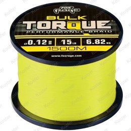 FOX Torque Performance Braid 1500 Meter.