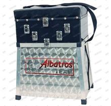 Zitmand Aluminium 3 Ladig-ABS