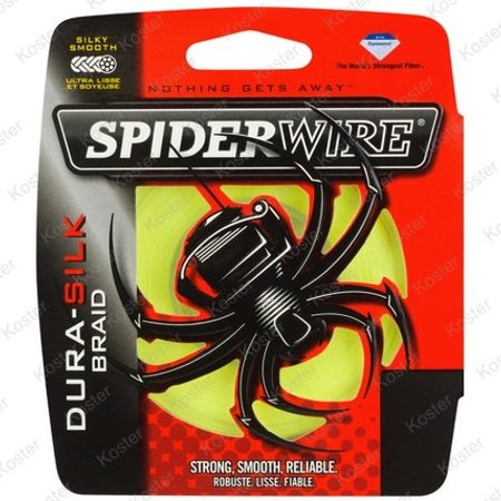Spiderwire Dura Silk Yellow 270 Meter