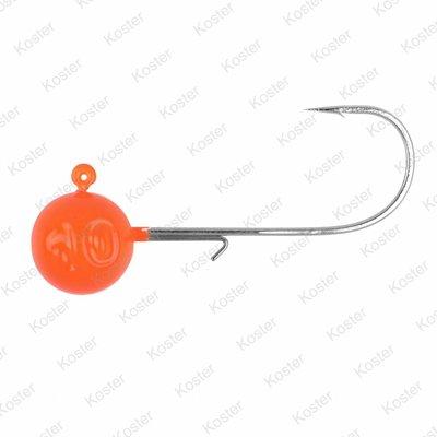 Spro Round Orange Jig Head