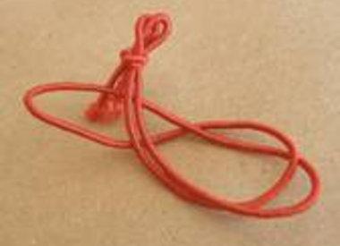 Tied elastics