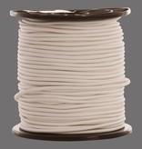 09 Gummispannseile - 8 mm - 95 bis 100 Meter - Weiß