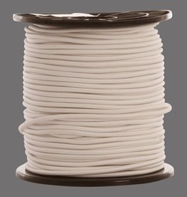 09 Trampoline cord - 8 mm - 95 to 100 meters - white