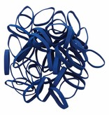 Dark blue D.04 Dunkelblaues Gummiband Länge 50 mm, Breite 8 mm