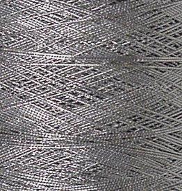 07 Kordelgummi - 1 mm - Silber