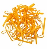 Yellow L.22 Geel elastiek Lengte 180 mm, Breedte 2 mm
