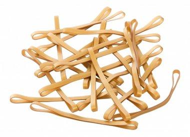 Gold color elastic bands