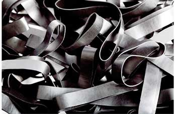 Black H.08 Black elastic band Length 90 mm, Width 2 mm